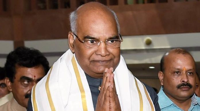 NDA's presidential nominee Ram Nath Kovind
